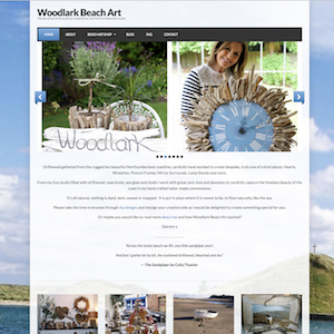 woodlark beach art